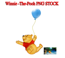 Winnie -The-Pooh PNG STOCK by KarahRobinson-Art