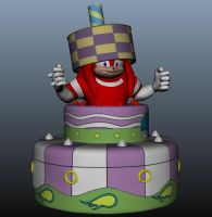 Boom Knuckles Cake Surprise Model by Zeldarkness