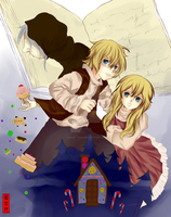Hansel and Gretel by yuuuki-chan