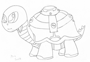 Mine Turtle: REMADE! by TMan5636