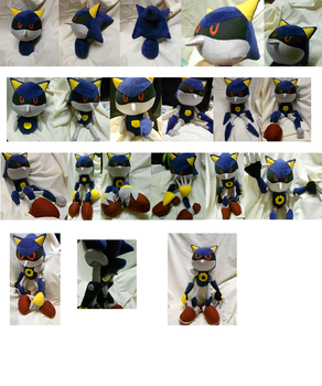 Metal Sonic Process build by ShadowStanEnvy