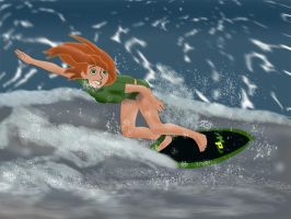 Surfing KP by captainkodak1