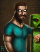 the real herobrine by Ian-exe