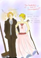 USUK- The Shepherdess and the Chimneysweep by yanny0801