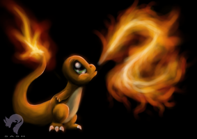 004 - Charmander by SasheraDesigns
