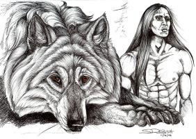 Jacob Black from Twilight... by paleWOLF