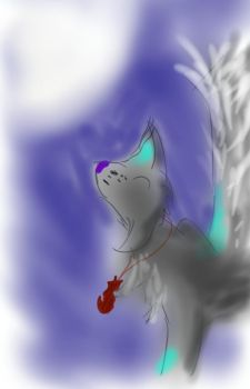 Howling lynx by skythewingedcat