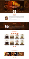 Gerobak Kopi Jenggo website by HEVNgrafix