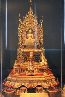 Victoria And Albert Museum Oriental Buddha Shrine by aegiandyad