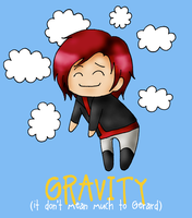 Gravity don't mean too much. by TeenTitans-Starfire