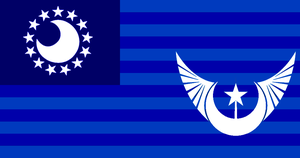 Flag of the New Lunar Republic by LanceShield
