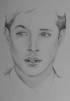Jensen Ackles by RecklessPadfoot