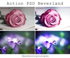 Neverland - Photoshop Action + PSD. by Heavensinyoureyes