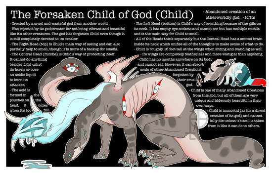 The Forsaken Child of God by polterqueist
