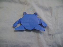 Origami Poliwhirl by FroggyDreams