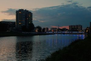lights of Opole  City by structure-of-chaos