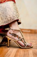 High Heels with Henna by umerr2000