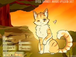 DWW- Honeywing || Thunderclan || by Eeveelutions95