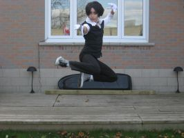 Chisaha-ichi: Sebastian Is Going To Get You by CosplayCuties