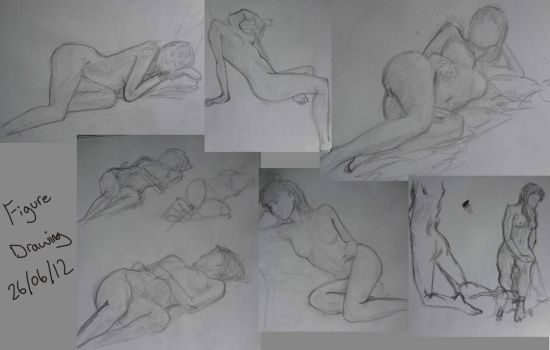 Figure Drawing by Malzberry