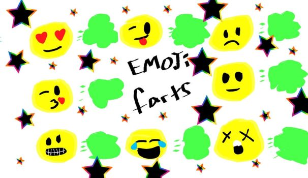 EMOJI FARTS by BlondeBo