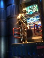 C-3PO is working in Star Tours photo 2 by Magic-Kristina-KW