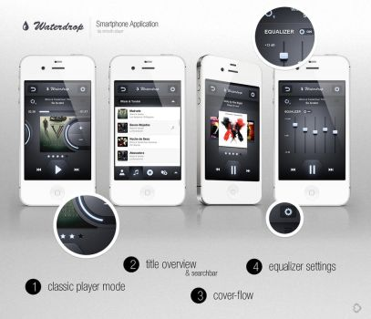 WaterDrop Player App - Sold by Andasolo