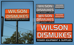 Sign - Wilson Dismukes by xloganx