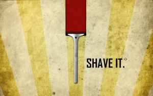 Zedd Shave It Wallpaper by ValencyGraphics