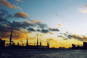 Hamburg by blueimagination
