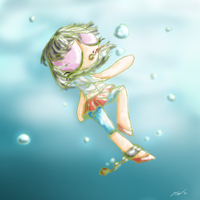 Her fall into the deep blue by Darkforeverxy2