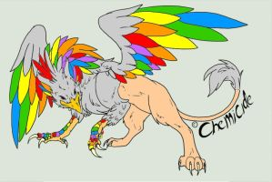 Gryphon adopt- adopted by CoyoteDove