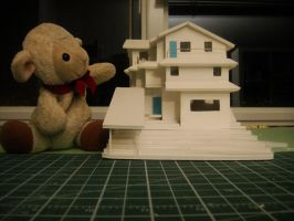 Baby Lamb and house model 2 by MelodicInterval
