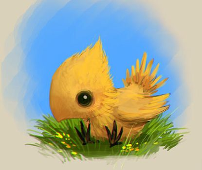 chocobo by randis