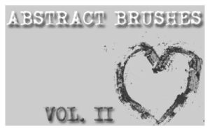 Abstract Brushes set. 2 by Chlotte