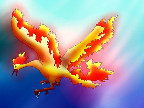 Moltres by Cloudy-Darkness