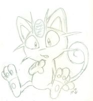 Who, ME-owth? (Sketch) by wahyawolf