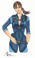 Jill Valentine by Palulukan