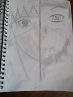 kakashi and obito by sarah00187