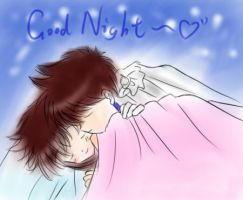 Good night~ by FinoLee