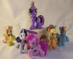 Show-Accurate Blindbag Elements of Harmony Mane 6 by Gryphyn-Bloodheart