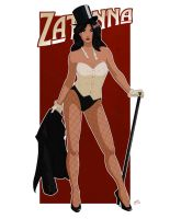 Zatanna Pin up Commission by Mro16