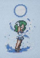 Sailor Neptune Cross Stitch by Awenmir