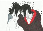 sasuke i love you forever brother by zadimir