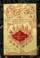 The Marauder's Map by Groovygirlsuzy17