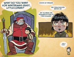 Xmas Card 2012 by MikeDimayuga