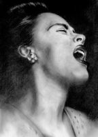 Billie Holiday by Pidimoro