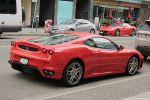 F430 Vs California by SeanTheCarSpotter