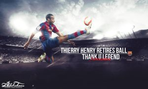 wallpaper Thierry Henry retires ball 2014-2015 by Designer-Abdalrahman
