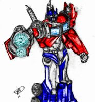 Transformers Prime-Optimus by Byrdman-08